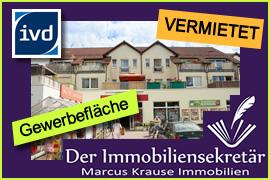 Vermietet: Gewerbefläche Wandlitz