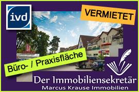 Vermietet: Büro- und Praxisfläche Basdorf