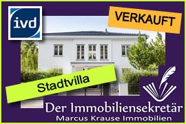 Verkauft: Stadtivilla Wandlitz