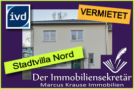 Vermietet: Stadtvilla Nord in Zühlsdorf