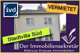 Vermietet: Stadtvilla Süd in Zühlsdorf