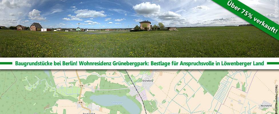 Wohnresidenz Grünebergpark in Löwenberger Land