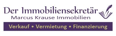Der Immobiliensekretär IVD | Marcus Krause Immobilien Logo