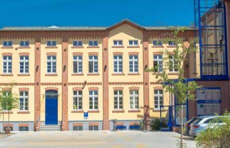 Industriebauwerk Velten Stadtmitte im Landkreis Oberhavel
