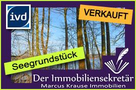 Verkauft: Seegrundstück Mühlenbecker Land