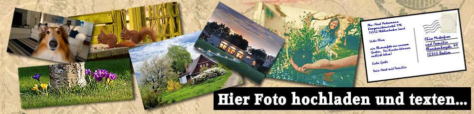 Versenden Sie Ihr schönstes Immobilien-Foto als Postkarte an Freunde & Familie, Druck & Porto übernimmt der Immobiliensekretär für Sie!