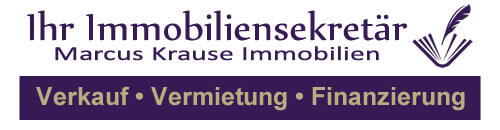 Immobiliensekretär – Marcus Krause Immobilien Logo