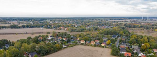 Makler-Mühlenbeck - Luftbild über Mühlenbeck - Großstückenfeld