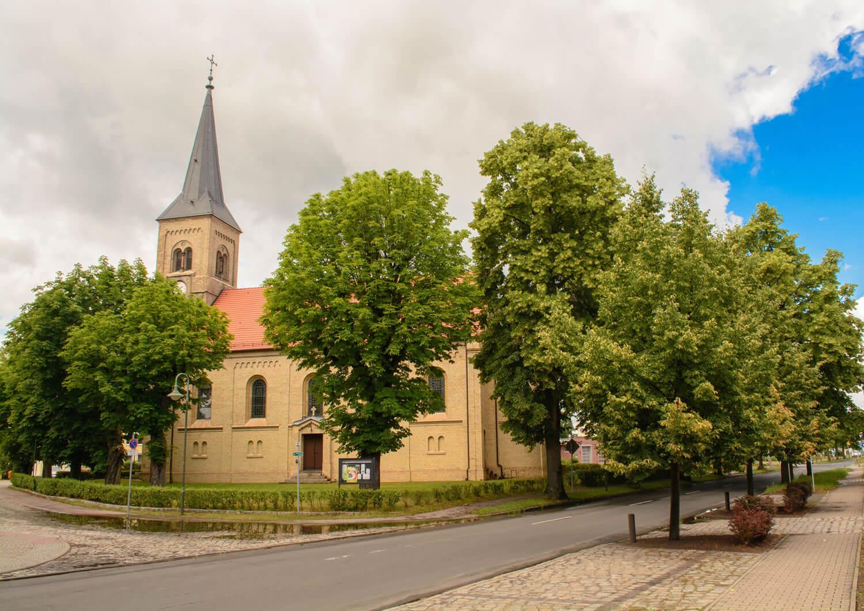 Kirche Muehlenbeck in Muehlenbecker Land