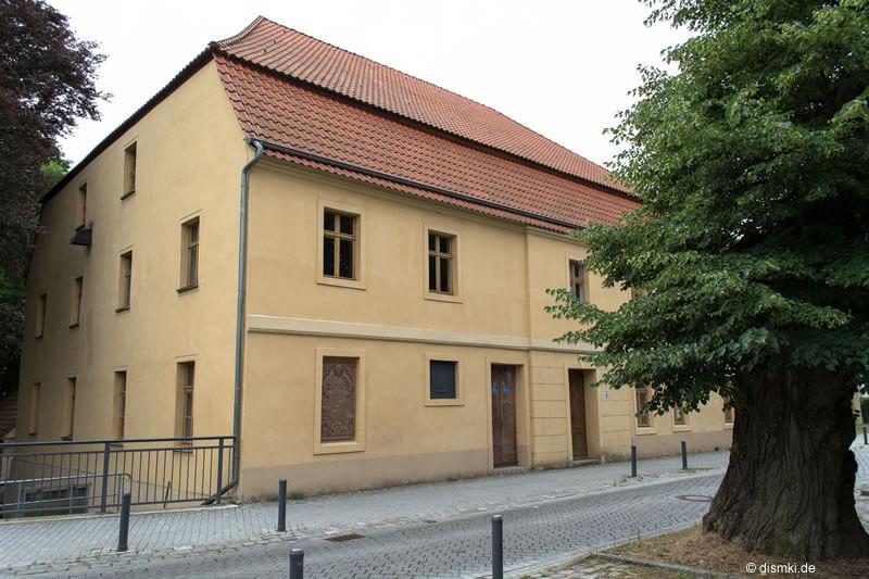 Gebäude der alten Mönchmühle in Mühlenbecker Land