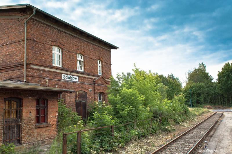 Alter Bahnhof in Schildow