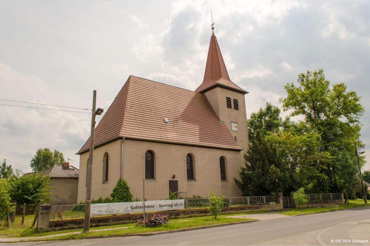 Kirche in Zühlsdorf - Ortsteil von Mühlenbecker Land