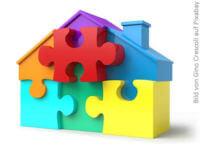 Haus Puzzle - Förderung - Baukindergeld